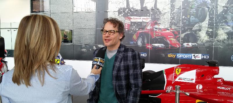 Jacques Villeneuve Sky Sport F1