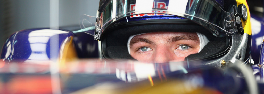 Verstappen Toro Rosso F1
