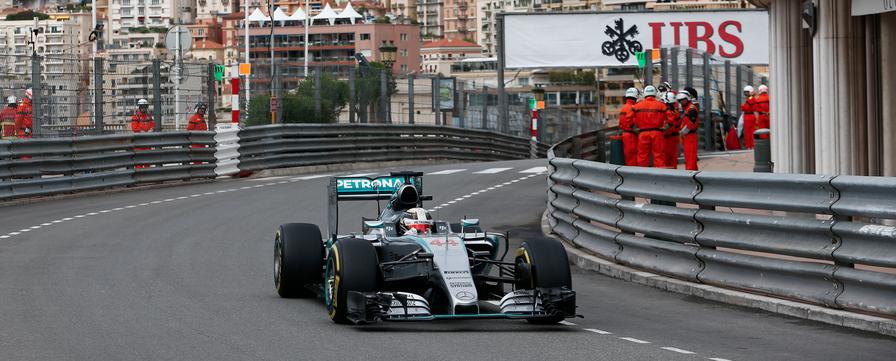 Hamilton Gp Monaco F1 2015