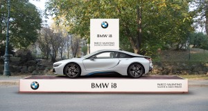 Podium BMW i8