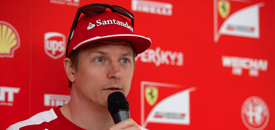 Raikkonen F1 Spain Gp 2015