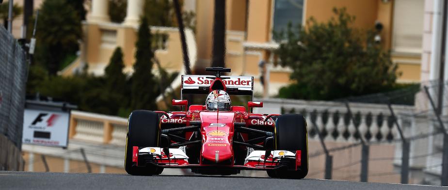 Vettel Gp Monaco F1 2015