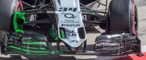 Test F1 Austria VJM08 Nose