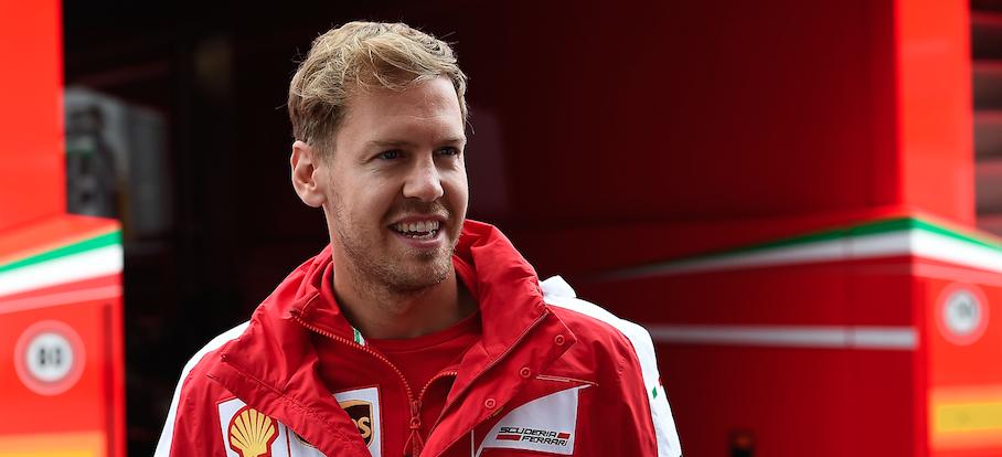 Vettel e Raikkonen Gp Austria F1 2015