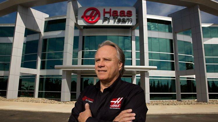 Gene hass F1 Team