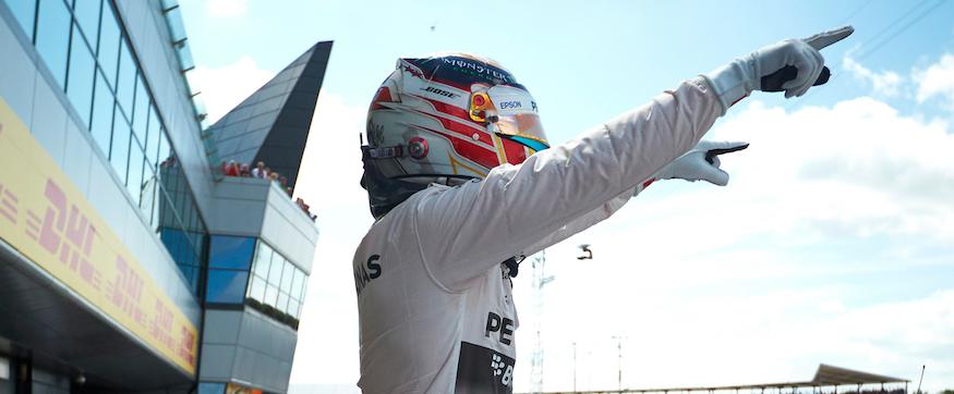 Hamilton Gp British Silverstone F1 2015