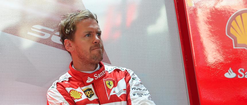 Vettel Ferrari British GP F1 2015