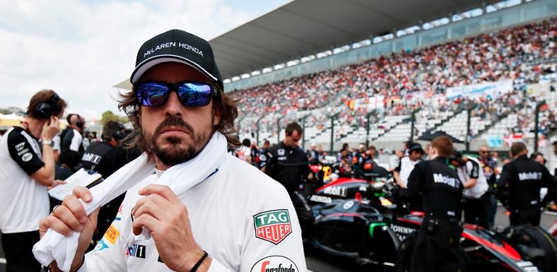 Alonso Gp Japan F1 2015 McLaren