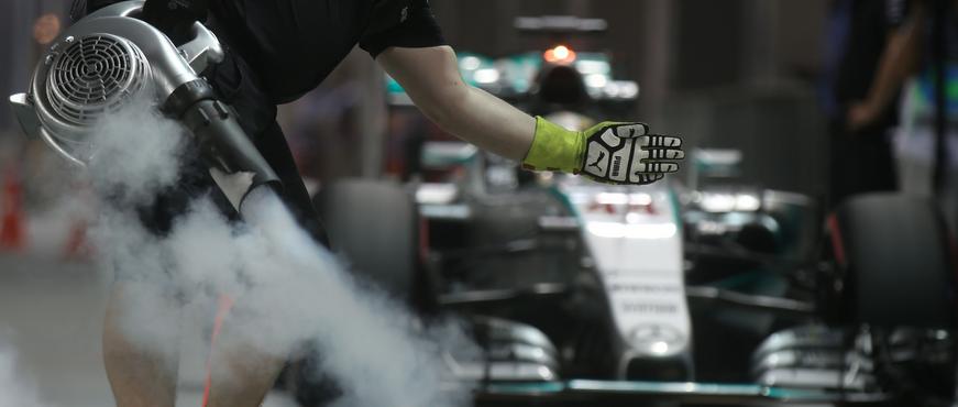 Mercedes F1 Singapore