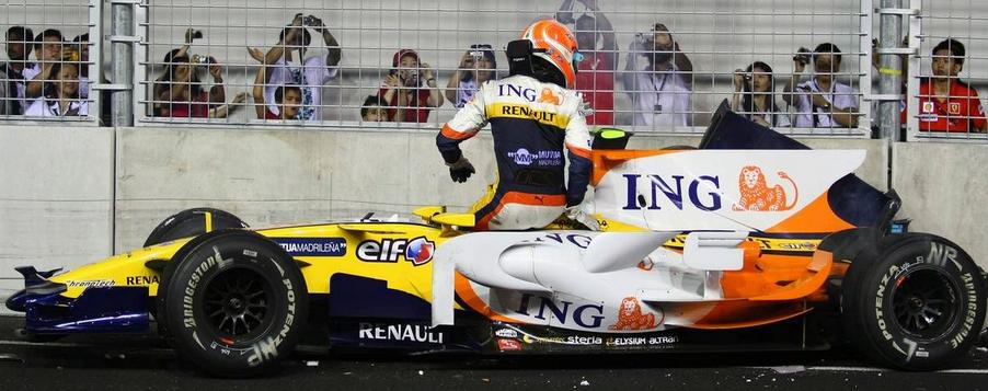 Nelson Piquet Jr, Singapore Gp F1 2008