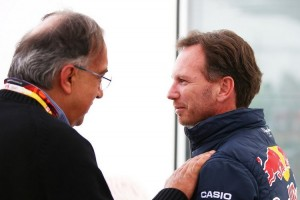 Sergio-Marchionne-Chris-Horner-Monza-F1