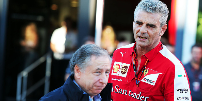 Arrivabene Todt F1