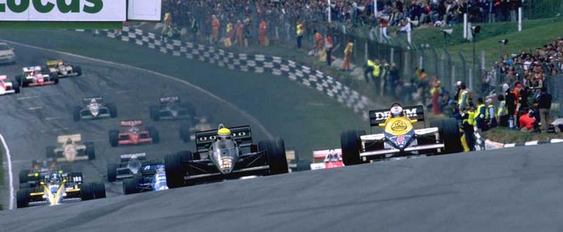 F1 Brands Hatch Nigel Mansell