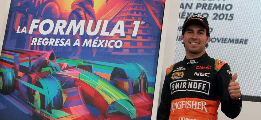 Perez Messico F1 2015