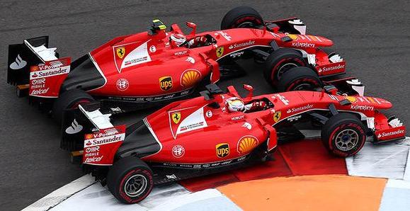 Raikkonen e Vettel