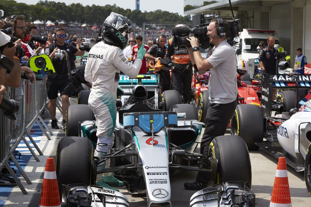 Rosberg F1 Brasile