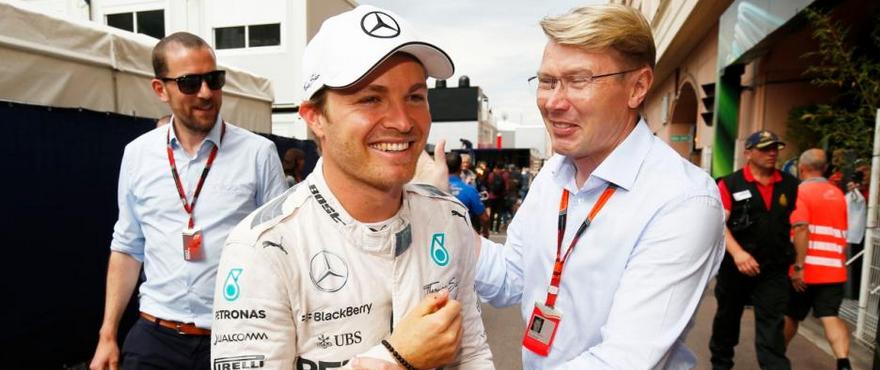 Hakkinen Rosberg F1