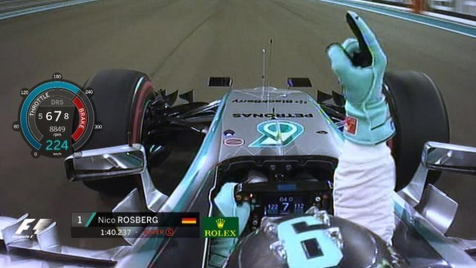 Sesta pole consecutiva per Rosberg