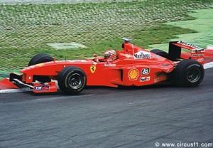 Eddie Irvine F1 Ferrari 1999