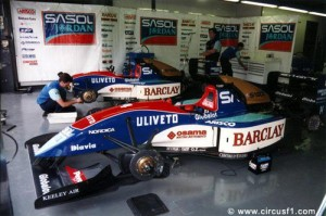 JJordan F1 Team 1993 - foto: A. Gallazzi, CircusF1