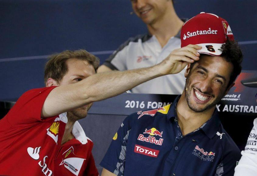 Vettel Ricciardo F1