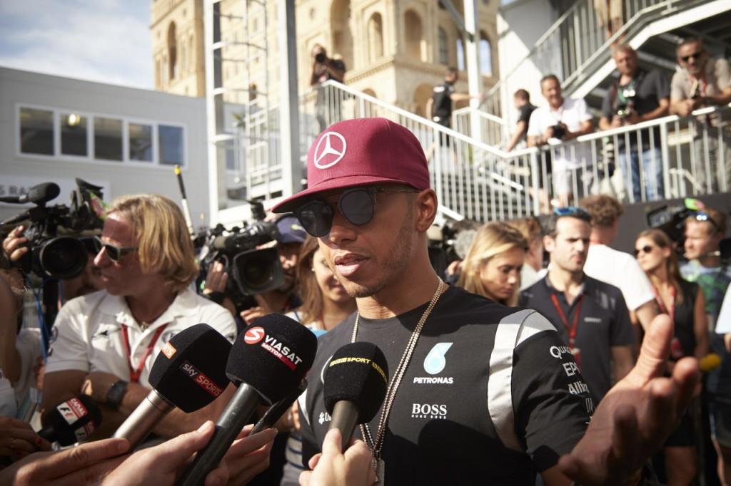 Hamilton 2016 European Grand Prix, Thursday