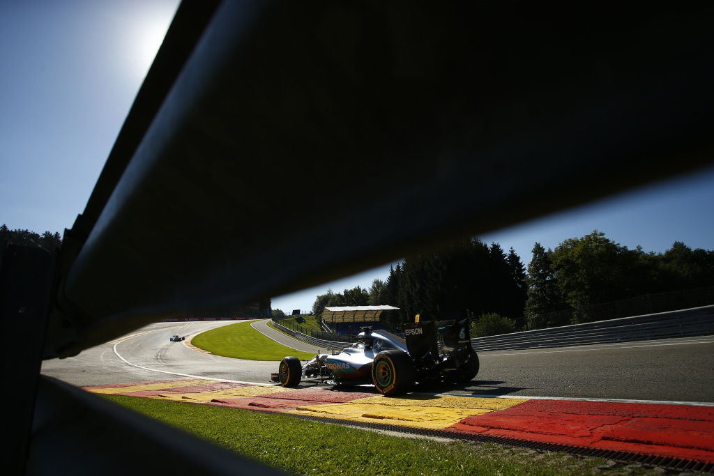 2016 Belgian Grand Prix, Friday