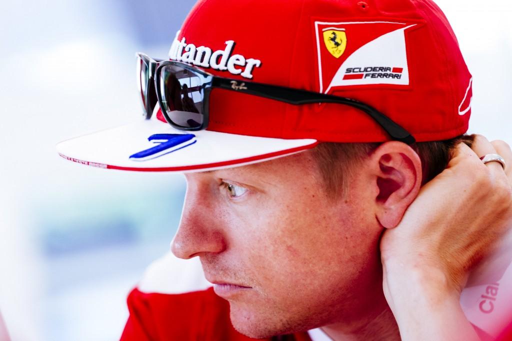 Raikkonen Ferrari Monza