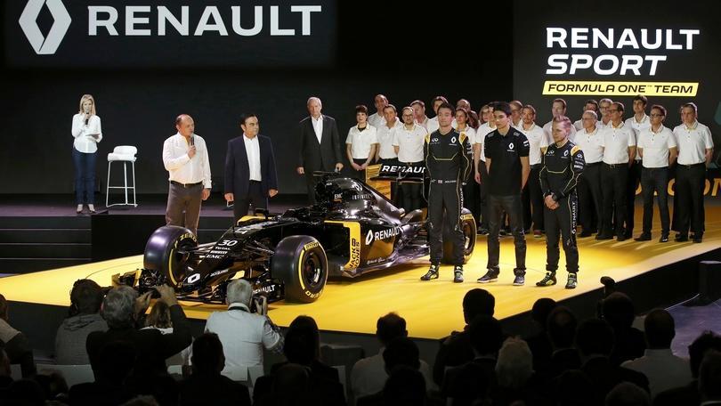 Renault F1 Team 2016