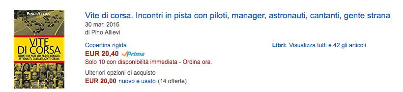VITE DI CORSA - Pino Allievi