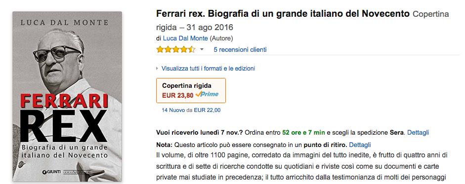 Ferrari REX - Amazon
