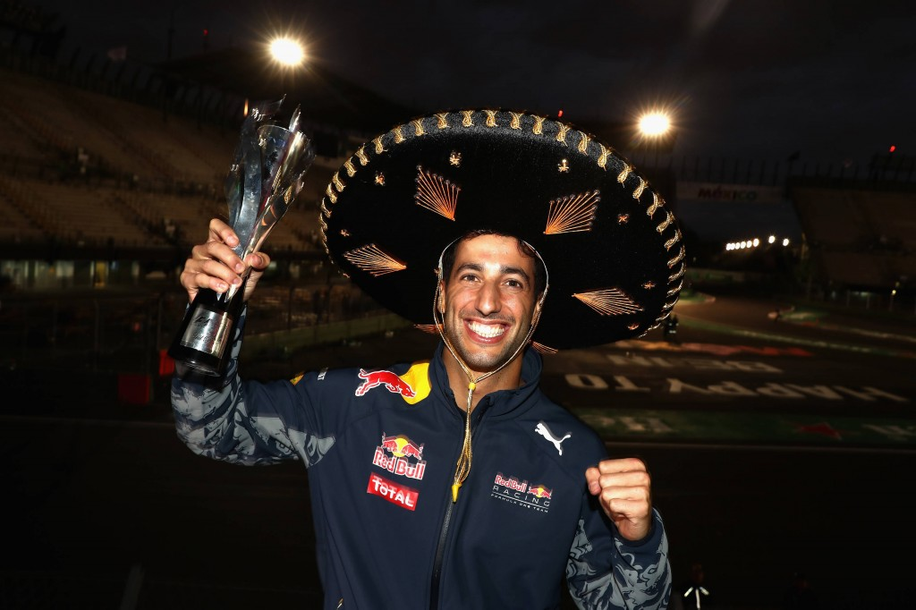 Ricciardo Messico Gp F1 2016
