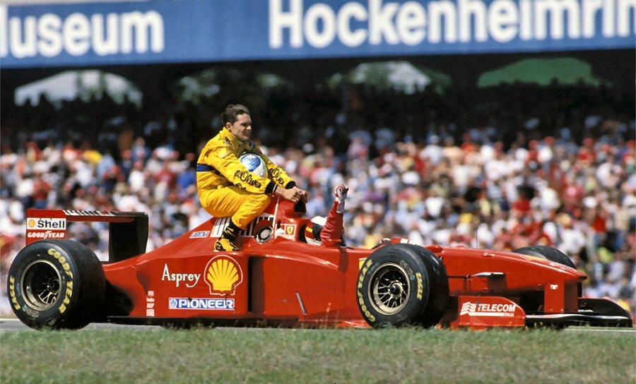 Schumacher_Fisichella_F1_27_july_1997