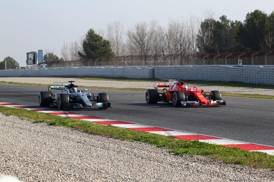 Barcellona Test F1