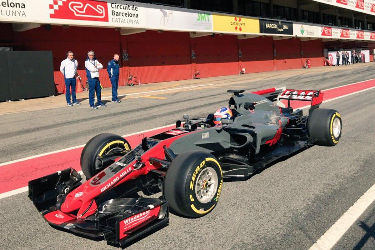 Tolti i veli alla nuova Haas VF17 per il mondiale F1 2017