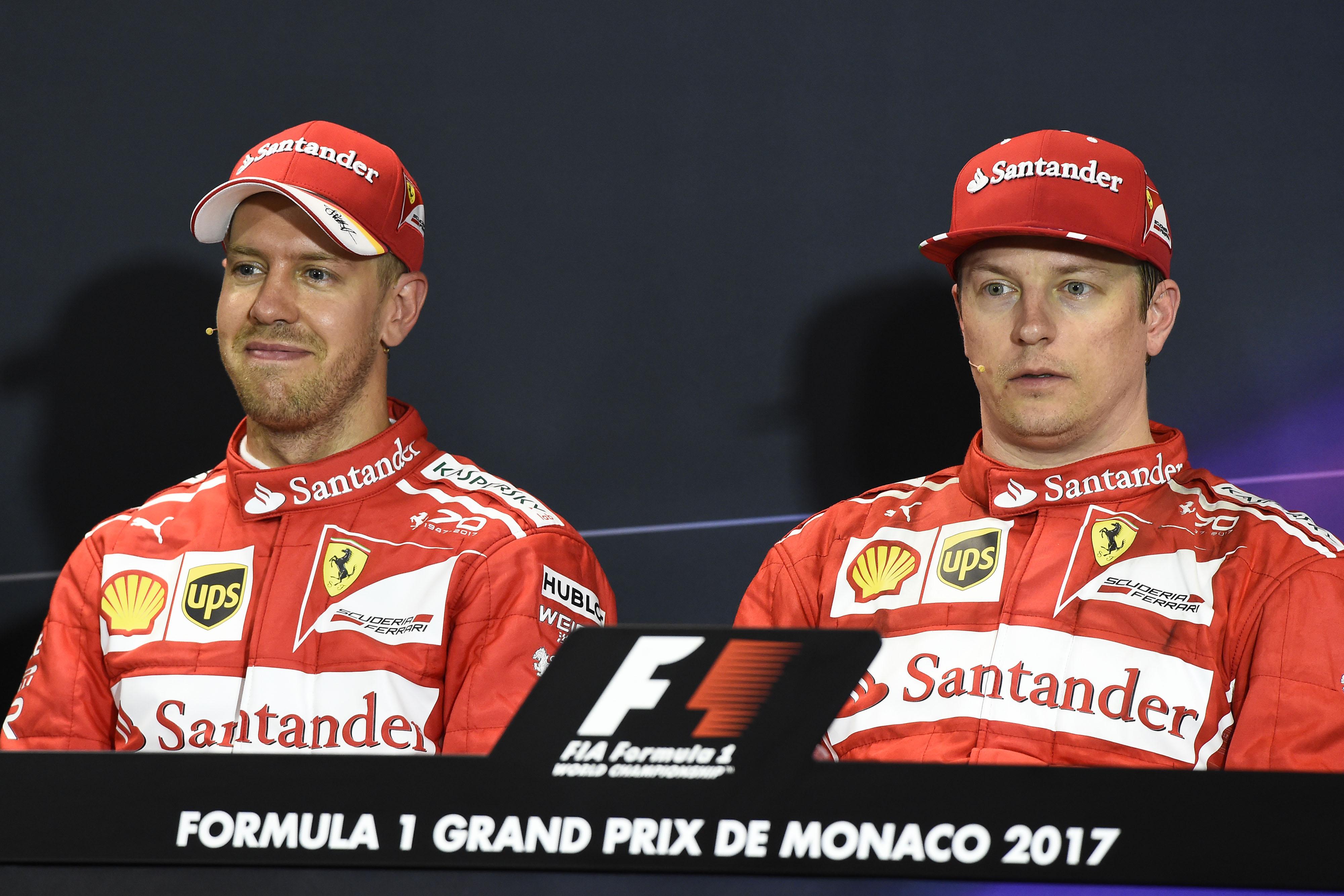 Doppietta Ferrari al Gp di Montecarlo, Vettel trionfa su Raikkonen