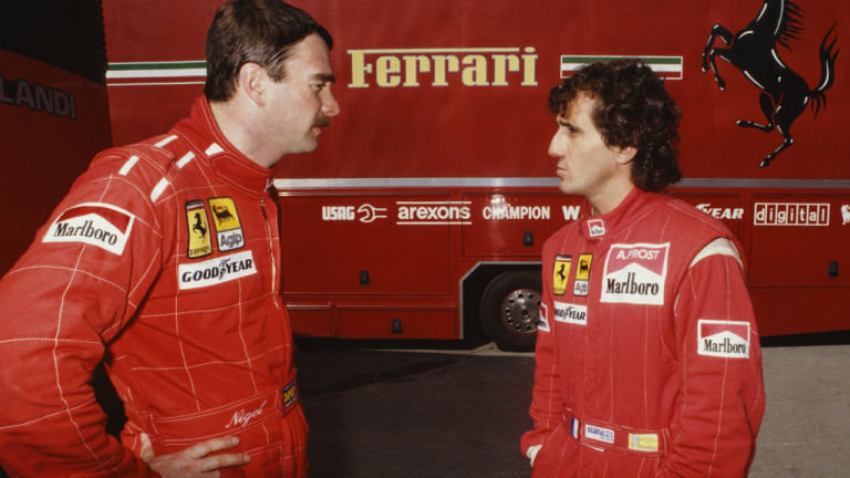 Mansell-Prost-F1-Ferrari