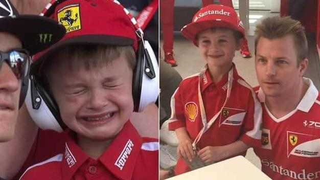 Thomas-F1-Spain-Raikkonen-fan