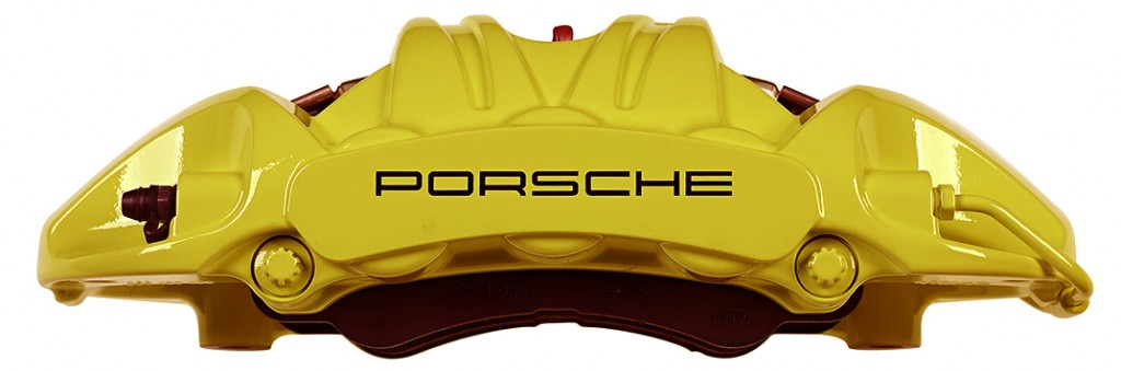PORSCHE gialla