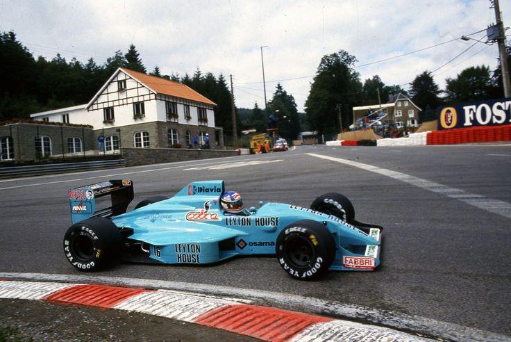 Ivan Capelli Gran Premio del Belgio 1988 su Layton House