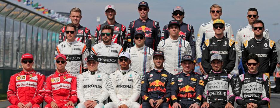 F1 2017 Drivers