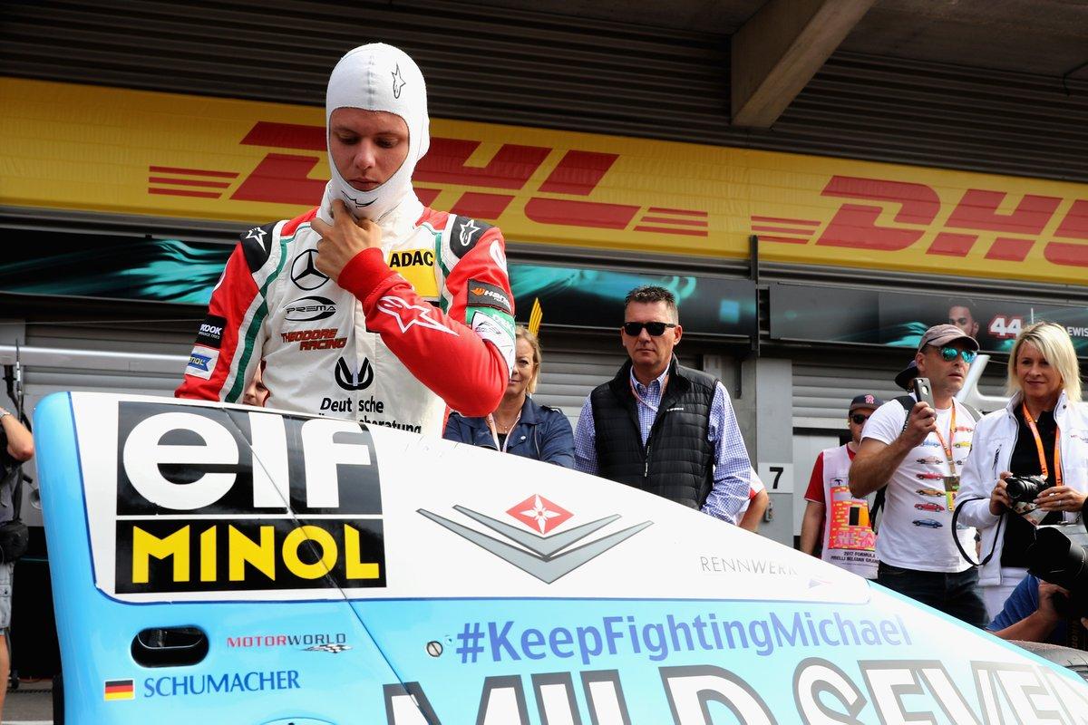 F1, Carey: la presenza di Mick Schumacher sarebbe «molto speciale»