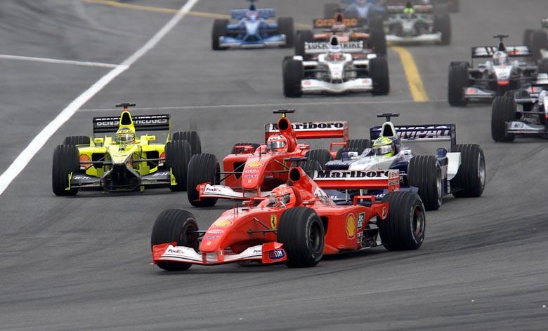 gp malesia F1 2001