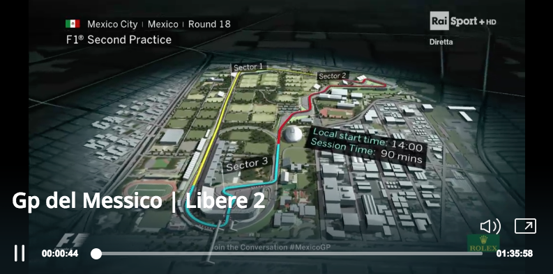 Messico Gp F1 _ FP2 Streaming video