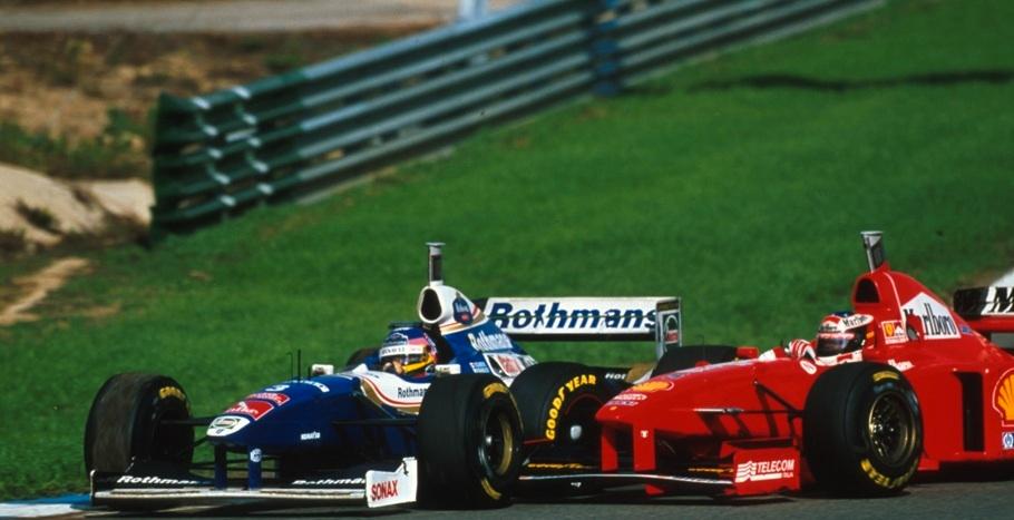Schumacher-Villeneuve-Jerez-1997-F1