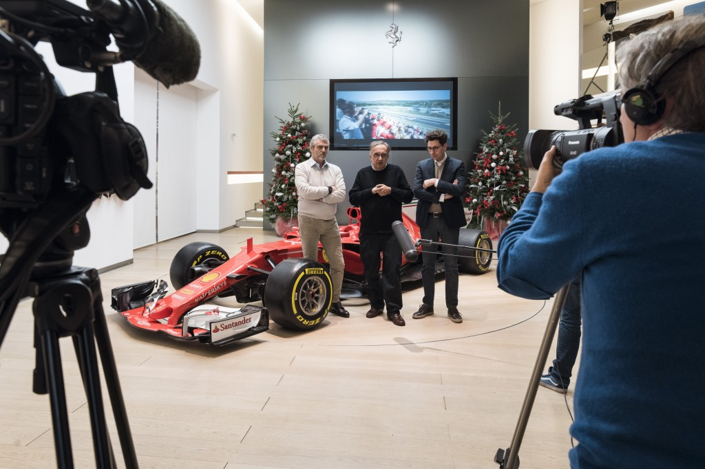 Ferrari Incontro tra i Giornalisti e la GES