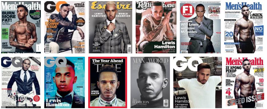 Lewis Hamilton Cover Magazine