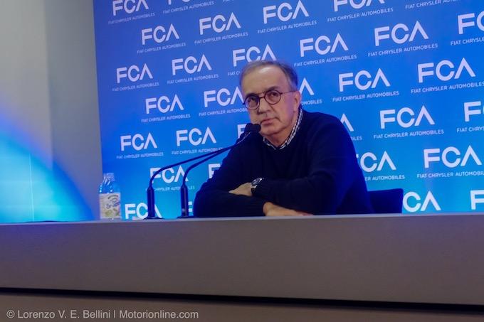 Ferrari, Marchionne: più rilassato su F1, è stagione più serena