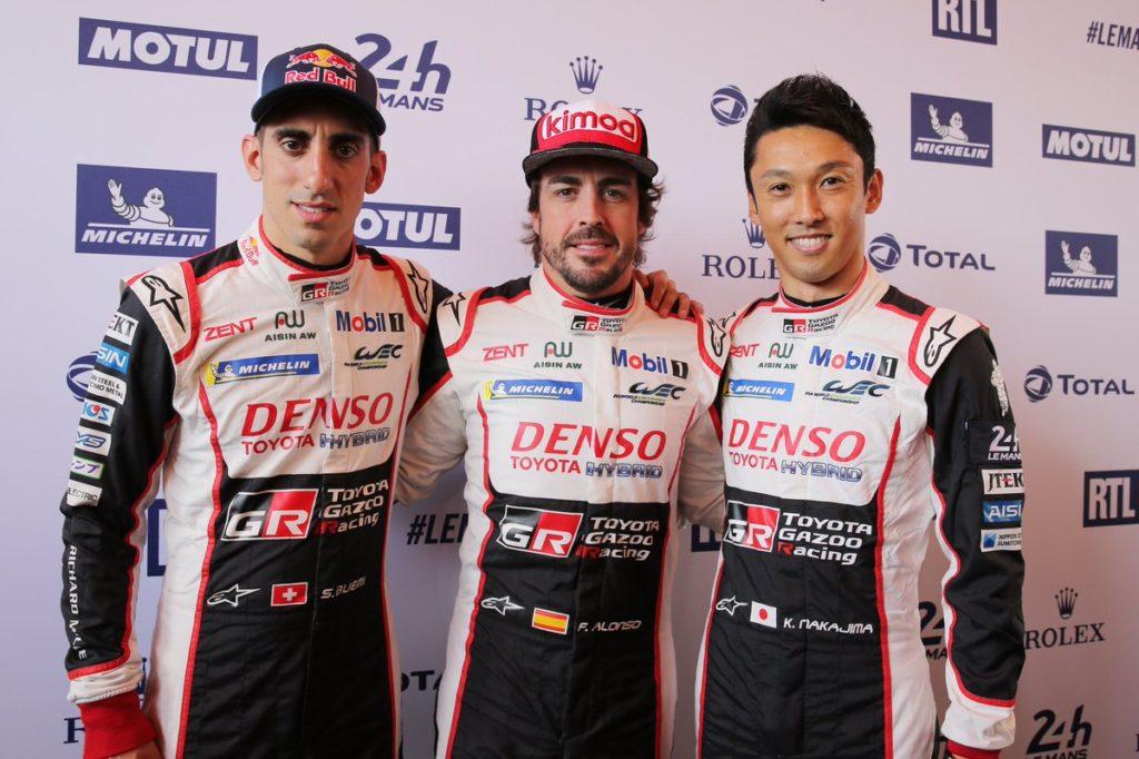 Ore Le Mans, Toyota ancora davanti: Alonso è in testa