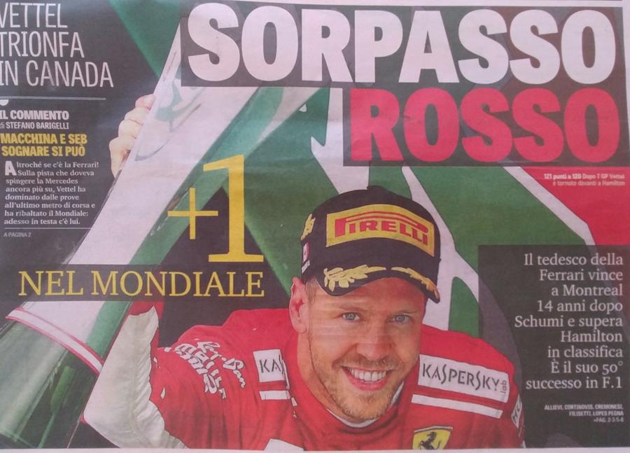 Formula1 Canada Vettel: